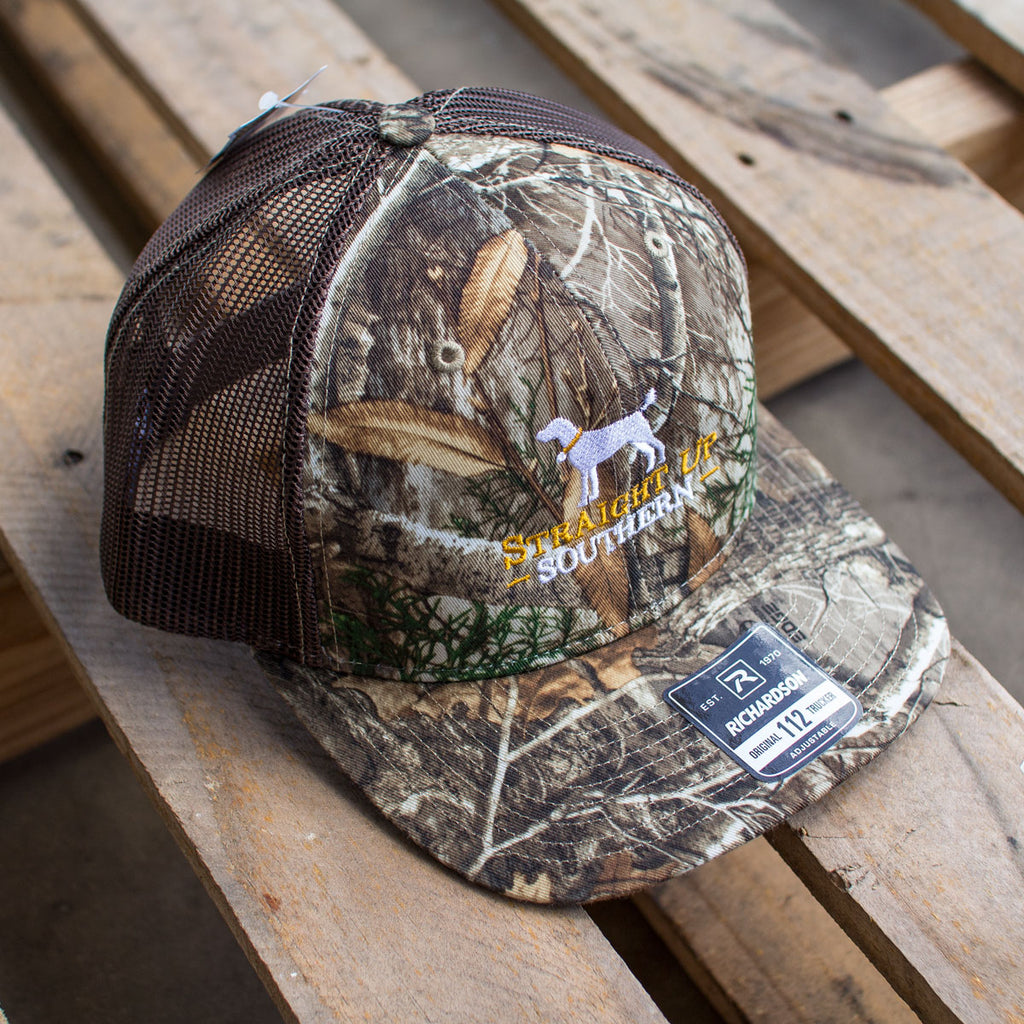 Logo Real Tree Edge Richardson Mesh Hat - 11755