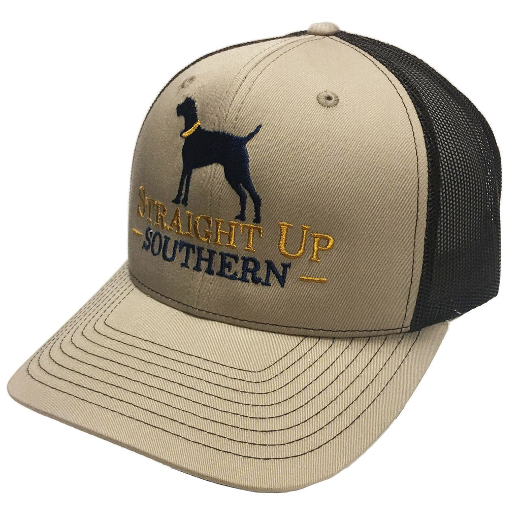 Dog Tan Brown Richardson Mesh Hat - 15738