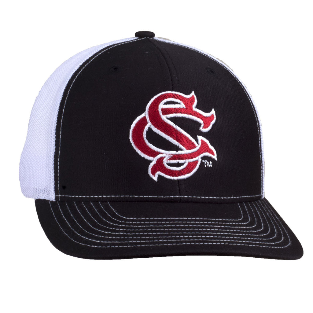 SC Logo - Mesh Hat - Black/White - 15886