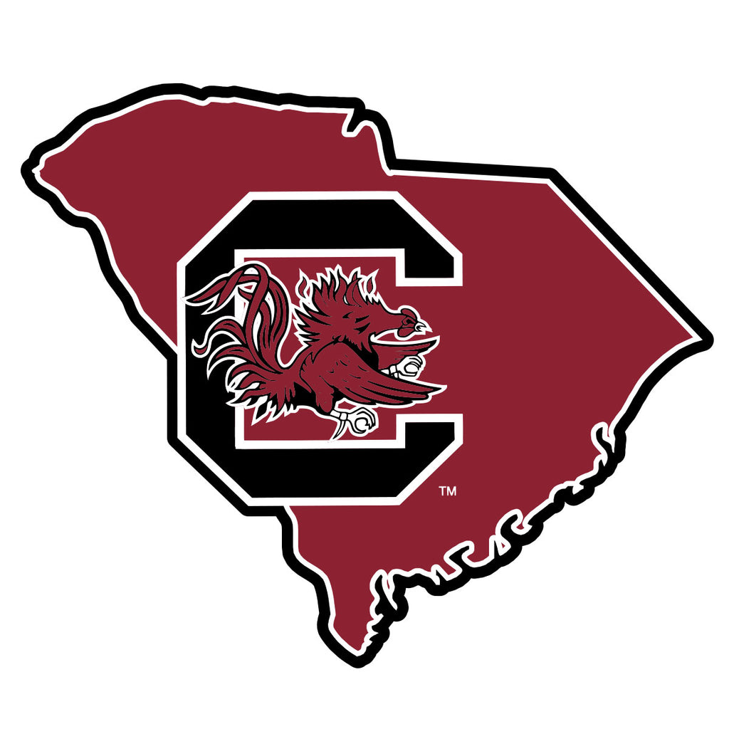 Gamecock Logo State Decal - 15901