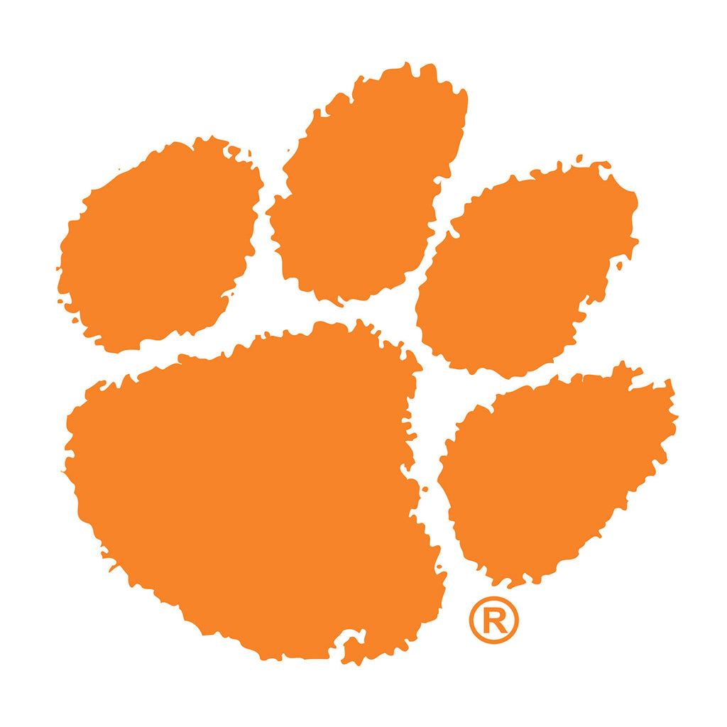 Clemson Paw Decal - 14470