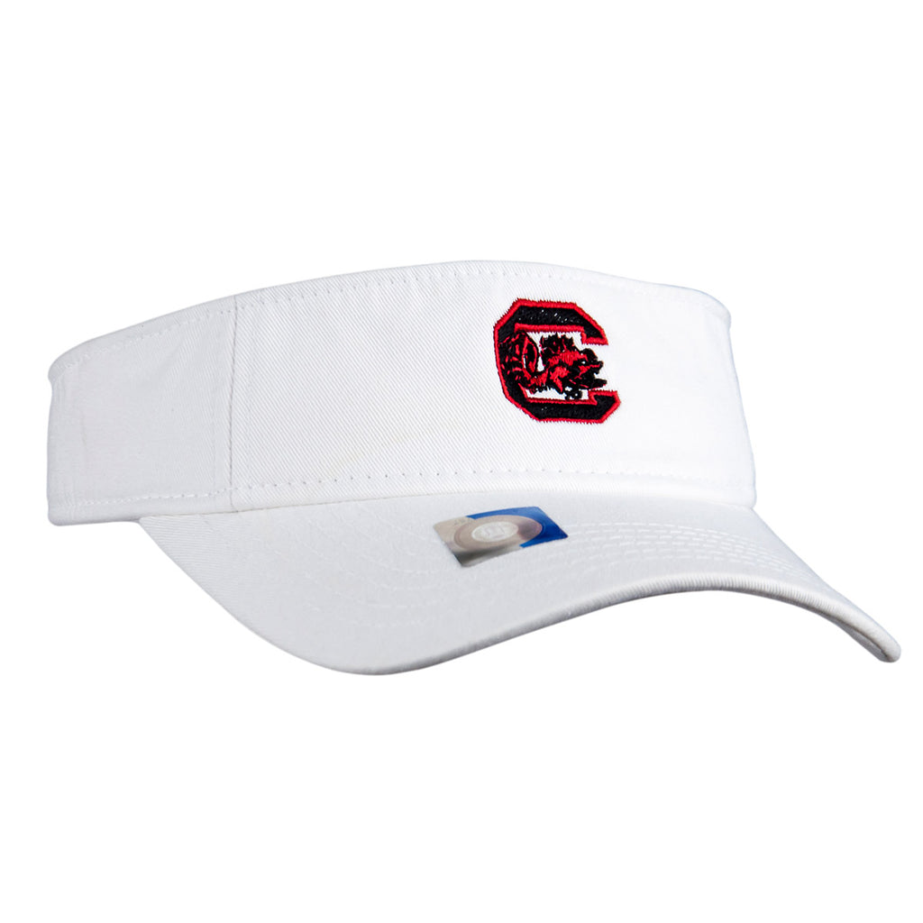 USC White Visor - VS810W