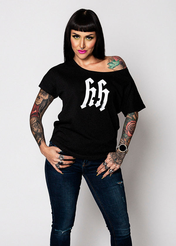 Heathen+Heretic Women's Logo Chill Fit - Vintage Black