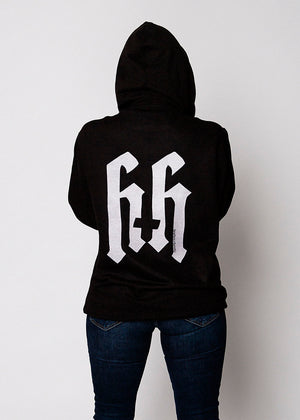 Heathen+Heretic Unisex No Religion Hoodie - Black