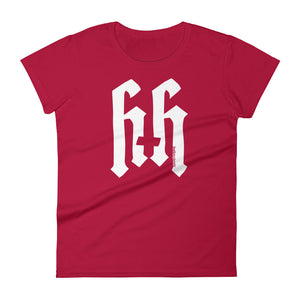 Heathen+Heretic Logo Women's T-shirt - Red