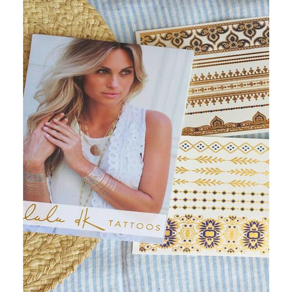 Lulu DK Indigo Temporary Tattoos - SOLD OUT