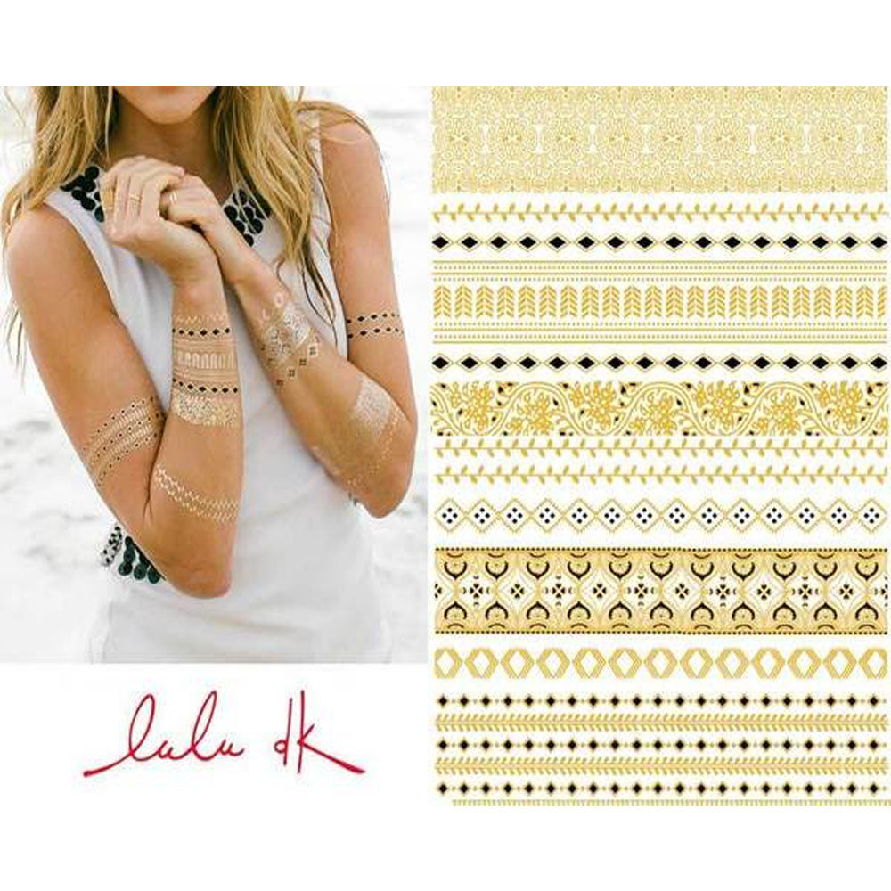 Lulu DK Mulholland Temporary Tattoos SOLD OUT