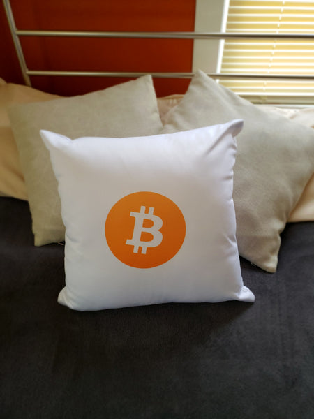 bitcoin block pillow