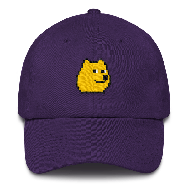 8-bit doge dad hat