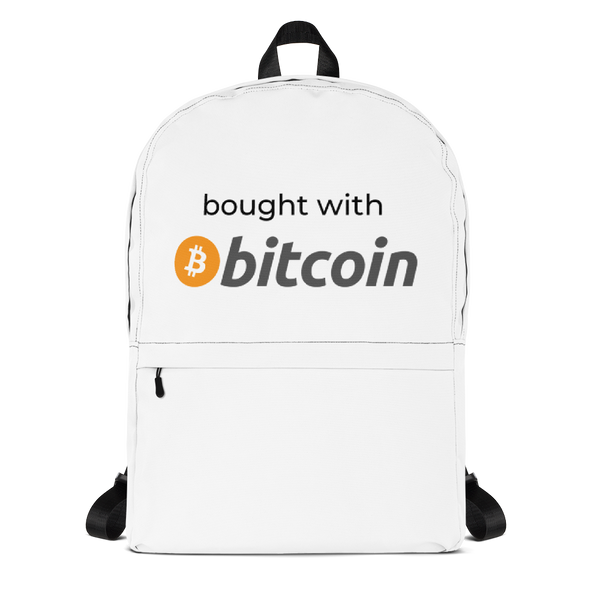 bought with bitcoin backpack