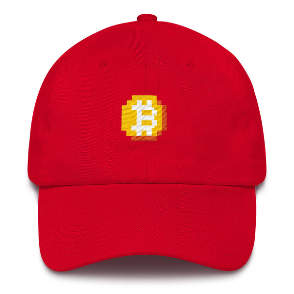 8-bitcoin dad hat