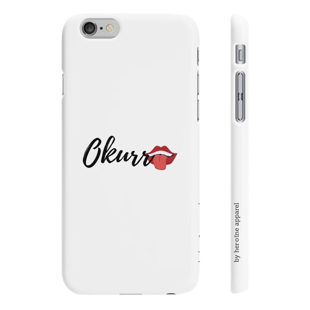 okurr phone case iphone samsung hype streetwear streetstyle cardi b designed in paris france