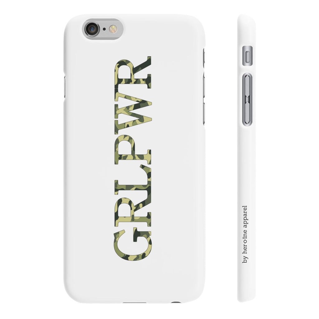 girl power grlpwr phone case heroine apparel design iphone samsung