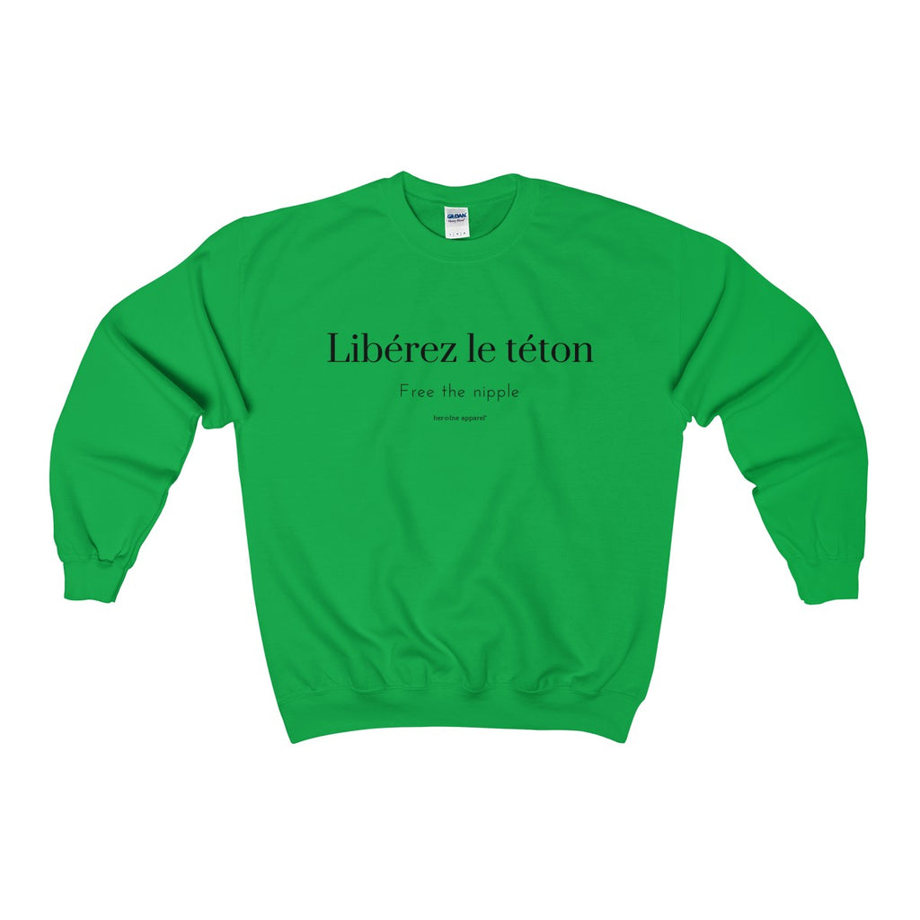 libérez le téton free the nipple hoodie streetwear hype french quote france paris