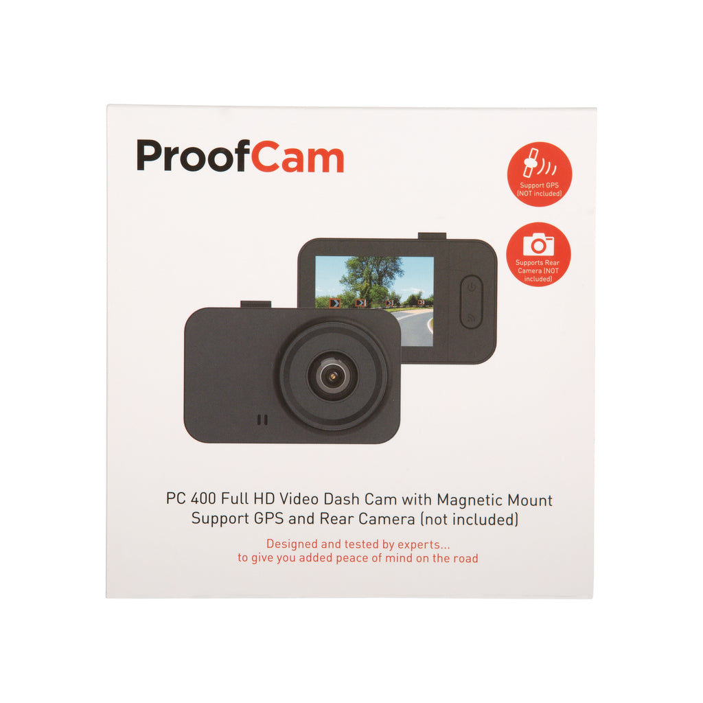 PC 400 HD Dash Cam (Forward facing Dash Cam Only)