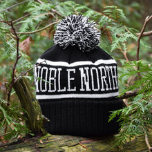 Noble North - Bear Explorer - Black Pom Toque - Back