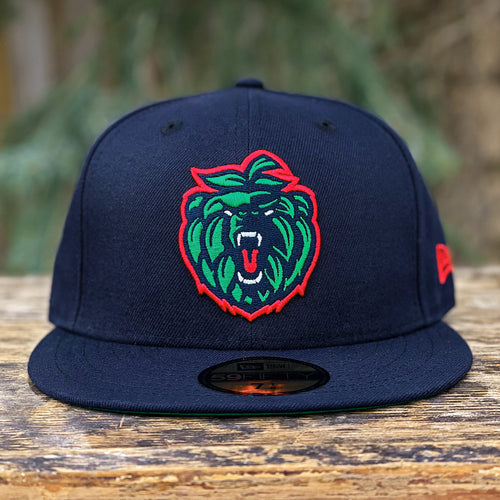 Bear Hops - Navy New Era 59Fifty - Front