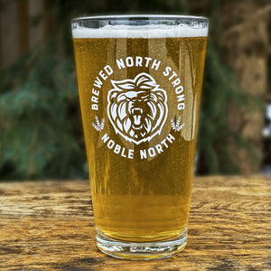 Brewed North Strong - 20oz Glass