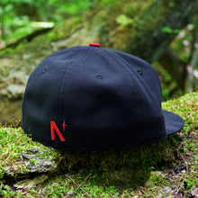 Load image into Gallery viewer, Noble North - Canada Badge - Navy New Era 59Fifty - Back