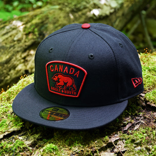 Noble North - Canada Badge - Navy New Era 59Fifty - Front