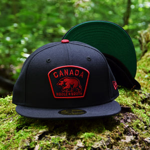 Noble North - Canada Badge - Navy New Era 59Fifty - Undervisor