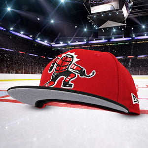 Celly - Red & Black New Era 59Fifty - Undervisor