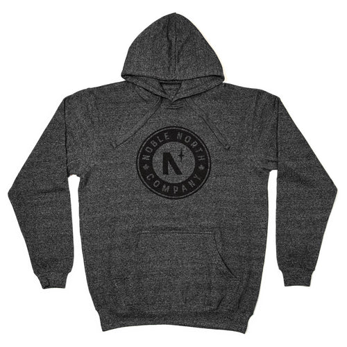 Noble North Company - Charcoal Heather Hoodie (Unisex) - Front