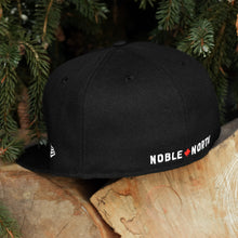 Load image into Gallery viewer, Noble North - Classic Patch - Black New Era 59Fifty