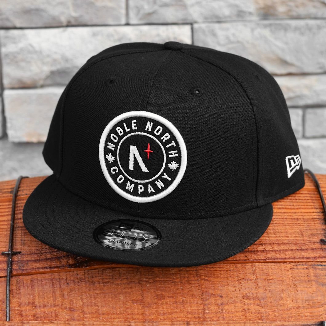 Noble North - Classic Patch - Black New Era 9Fifty Snapback
