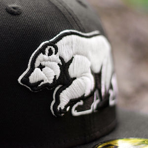 Bear Explorer - Black New Era 59Fifty - Close Up