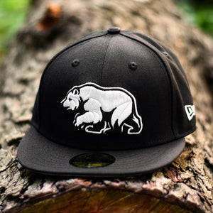 Bear Explorer - Black New Era 59Fifty - Front