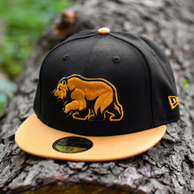 Bear Explorer - Black & Panama Tan New Era 59Fifty - Front