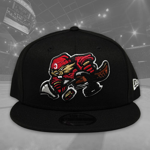 Beaverjax - Black New Era 9Fifty Snapback - Front