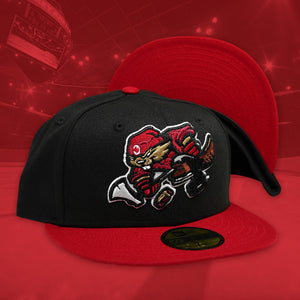 Beaverjax - Black & Red New Era 59Fifty - Undervisor