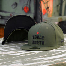 Load image into Gallery viewer, Noble North - Olive New Era 59Fifty Hat - Undervisor