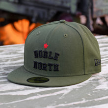 Noble North - Olive New Era 59Fifty Hat - Front