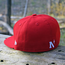 Load image into Gallery viewer, Noble North - Red New Era 59Fifty Hat - Back