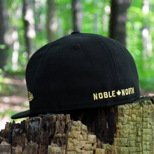 Load image into Gallery viewer, North Star - Black Metallic Gold New Era 59Fifty - Back