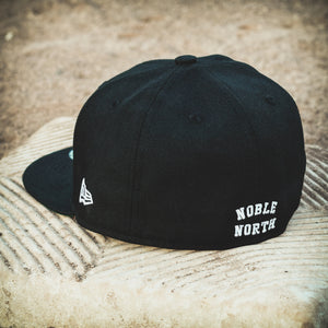 Noble North - North Star - Heritage - Black New Era 59Fifty - Back