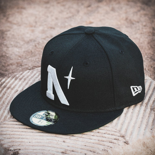 Noble North - North Star - Heritage - Black New Era 59Fifty - Front