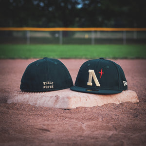 Noble North - North Star - Heritage - Dark Green New Era 59Fifty - Undervisor