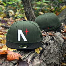 North Star - Olive & Black Heather New Era 59Fifty