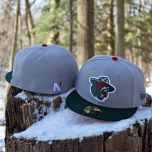 Northern Force - Grey & Green New Era 59Fifty Hat - Back
