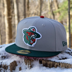 Northern Force - Grey & Green New Era 59Fifty Hat - Front