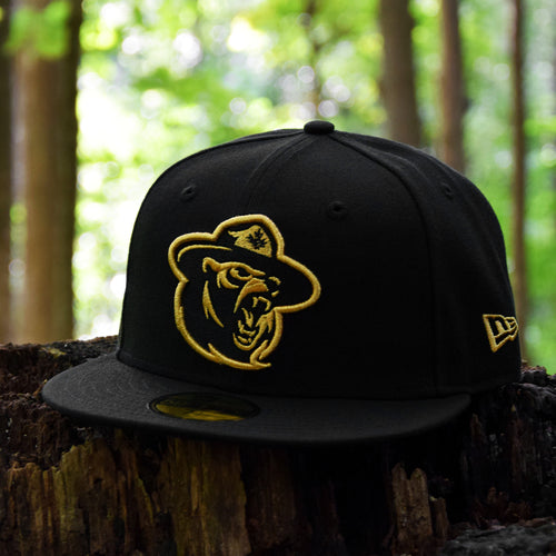 Northern Force - Black Metallic Gold New Era 59Fifty - Front