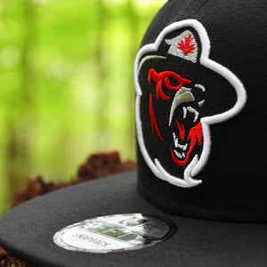 Northern Force - Black New Era 9Fifty Snapback - Close Up