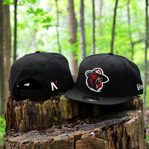 Northern Force - Black New Era 9Fifty Snapback - Front & Back