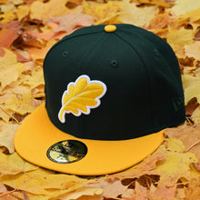 Load image into Gallery viewer, Oak Leaf - Dark Green & Athletic Gold New Era 59Fifty - Front