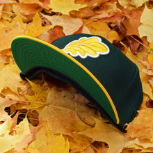 Load image into Gallery viewer, Oak Leaf - Dark Green & Athletic Gold New Era 59Fifty - Undervisor