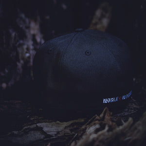 Noble North - Wolf - Black New Era 59Fifty - Back